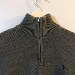 Polo by Ralph Lauren Shirts & Tops - POLO by Ralph Lauren Boys 1/4 Zip Green